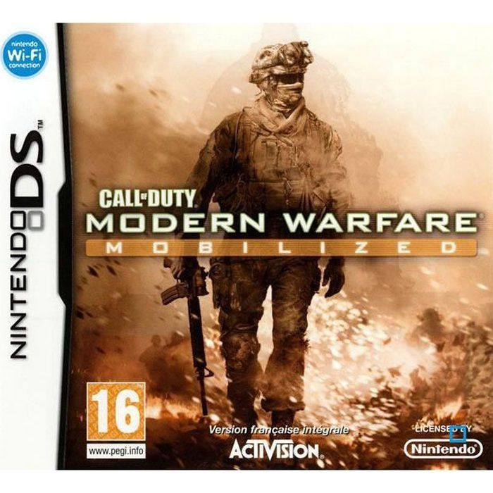 JEU DS - DSI CALL OF DUTY MODERN WARFARE