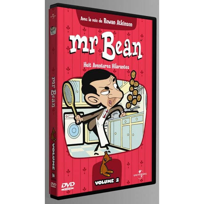 dvd mr bean serie animee vol 2 en dvd dessin anim pas. Black Bedroom Furniture Sets. Home Design Ideas
