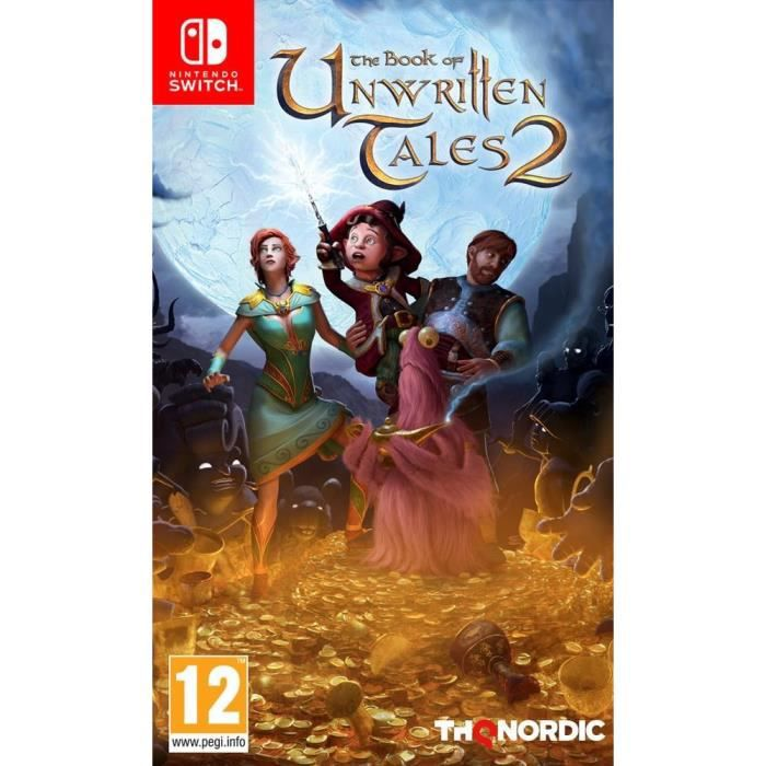 The Book of Unwritten Tales 2 Jeu Switch