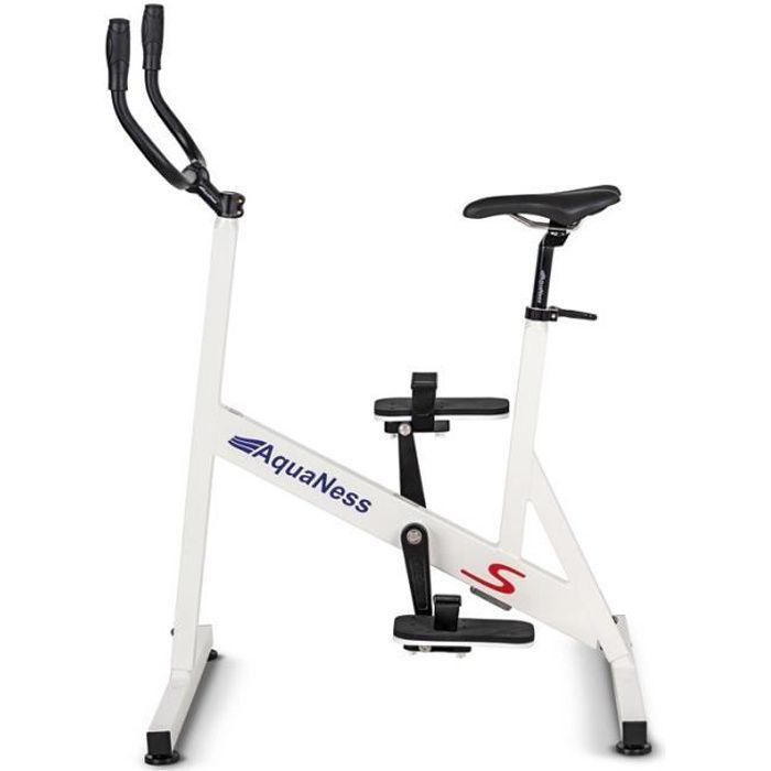 Vélo de piscine - AquaNess Série S blanc