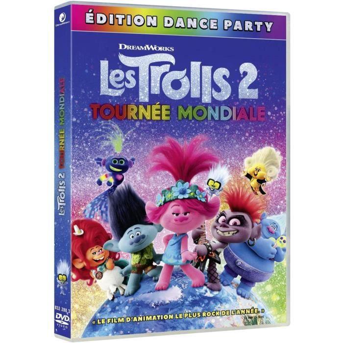 DVD Les Trolls 2-Tournée Mondiale