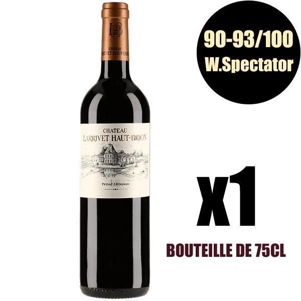X1 Château Larrivet Haut-Brion 2016 Rouge 75 cl AOC Pessac-Léognan Vin Rouge