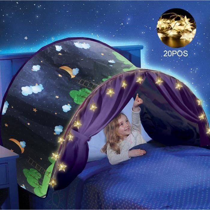 Tente Tunnel de lit Dream Screen 3 Ans et Plus Toyland/® Auvent de lit Licorne Magique Pop-up
