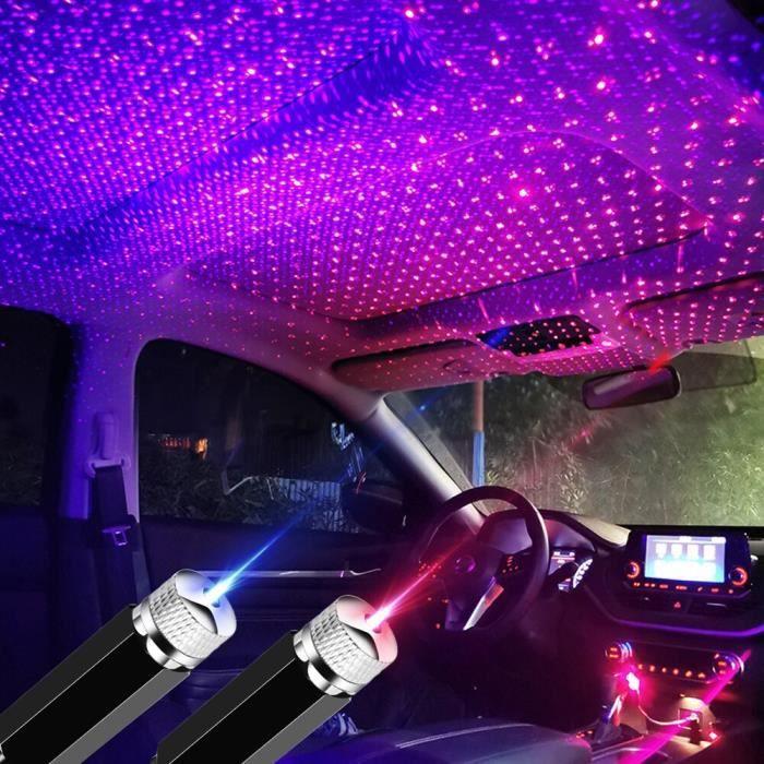 Lampe d'ambiance décorative pour voiture, accessoires automobiles pour vw polo golf passat jetta Tiguan skoda oct Rouge -LR10615