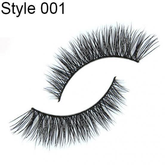 MTF Cheveux De Vison Doux Long Naturel Épais Maquillage Cils Faux Cils Style 001 mtf1133