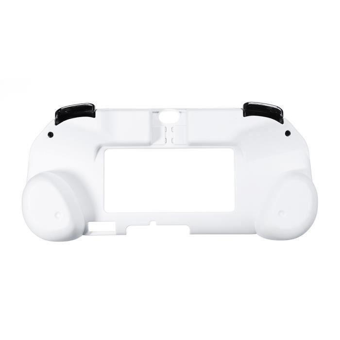 2 En 1 Support Étui pour PS Vita 2000 Me2 R2 Blanc Me41183