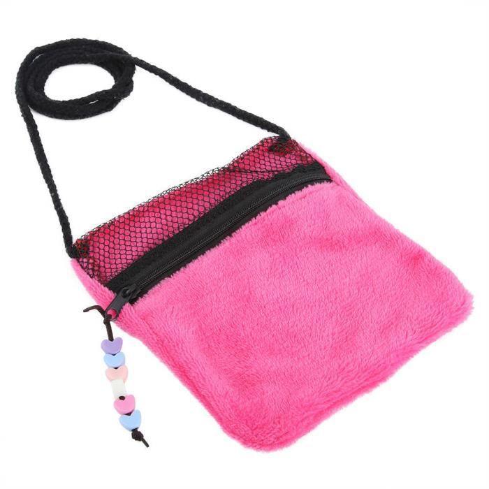 Fdit Sacs de transport pour animaux de compagnie Sac de transport pour animaux de compagnie Hamster Squirrel Sleeping Bags Sac à