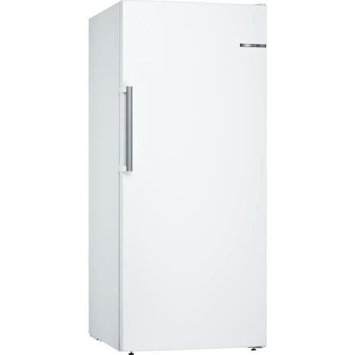 BOSCH GSN51AWDV - Congélateur armoire - 286L - Froid ventilé - L 70cm x H 161cm - Blanc