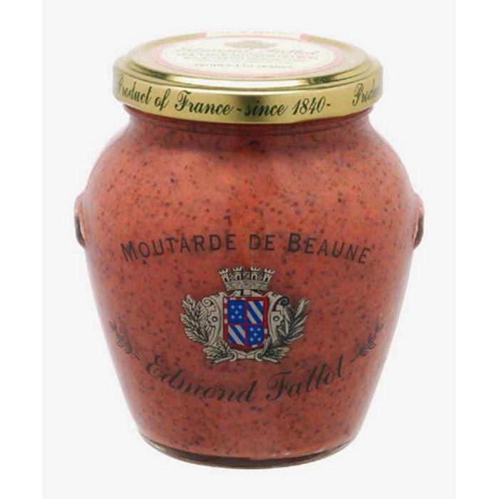 Moutarde au cassis de Dijon pot Orsio 500 gr