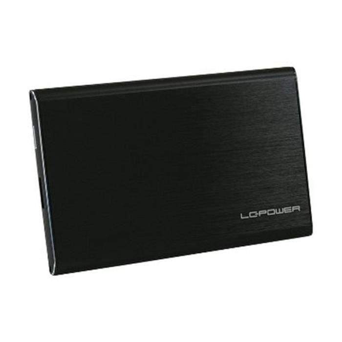 LC-POWER - BOX EXTERNE HD 2,5 « SATA USB 3.0 (LC-25U3-7B-ALU) NOIR