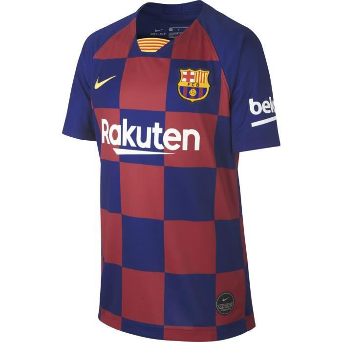 Maillot Nike Barcelone Domicile 2019-20 bleu / rouge enfant