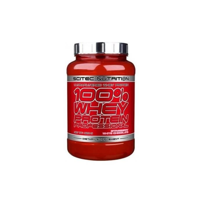 100% WHEY Professional 920 gr Scitec Nutrition (Fr