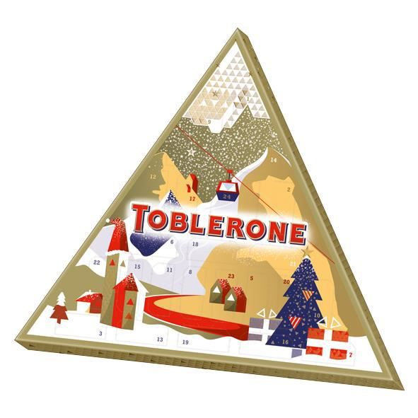 Toblerone Calendrier de l'Avent Chocolat 200g