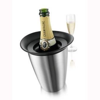Seau à champagne Rapid Ice Inox - Vacuvin