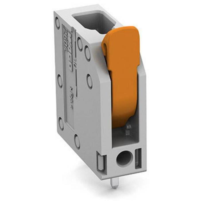 Borne pour circuits imprimés WAGO 2604-3101 4 mm² Nombre de pôles 1 1 pc(s) - CONNECTEUR SECTEUR