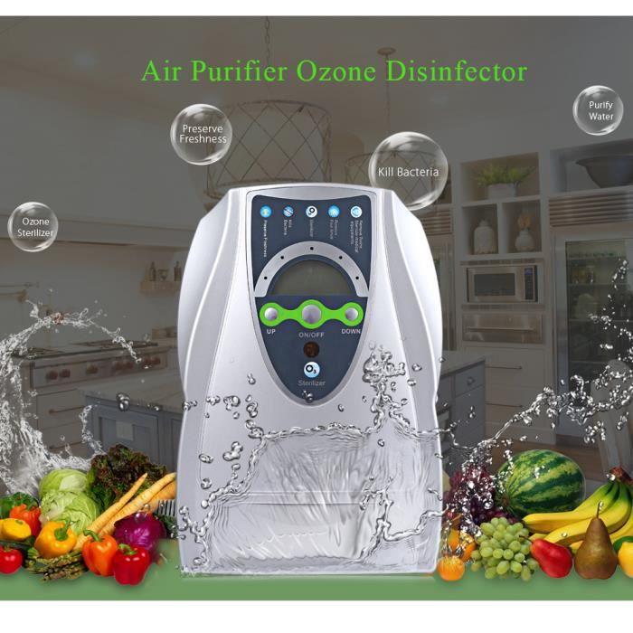 Purificateur D/'air Accueil Désodorisant Ozone Ioniseur Générateur Stérilisation