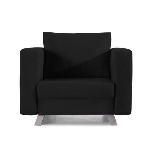 convertible 1 place solo noir fauteuil conver achat. Black Bedroom Furniture Sets. Home Design Ideas