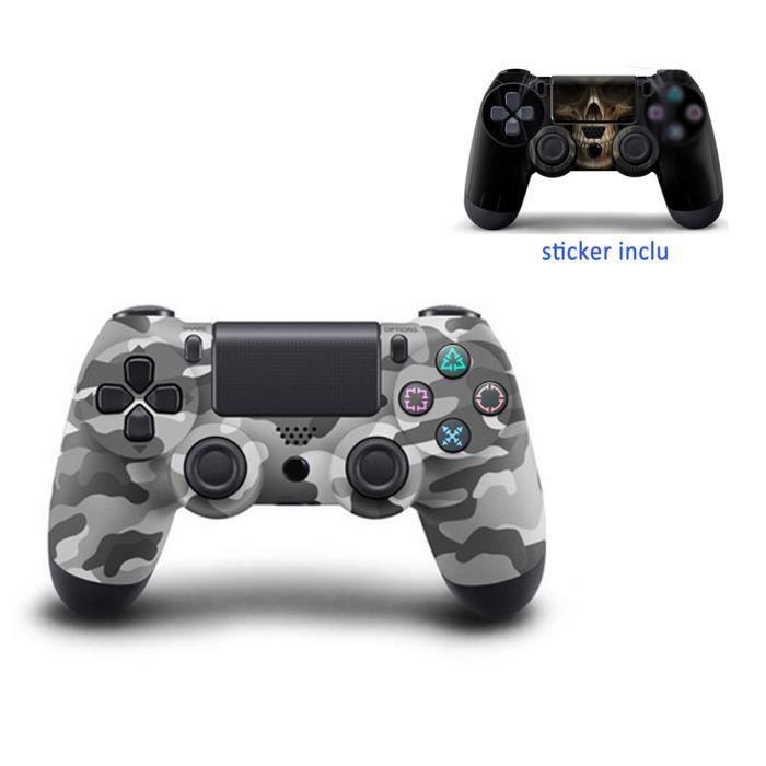 MANETTE JEUX VIDÉO Manette de Jeu Pour PS4  DualShock Gampad Bluetoot
