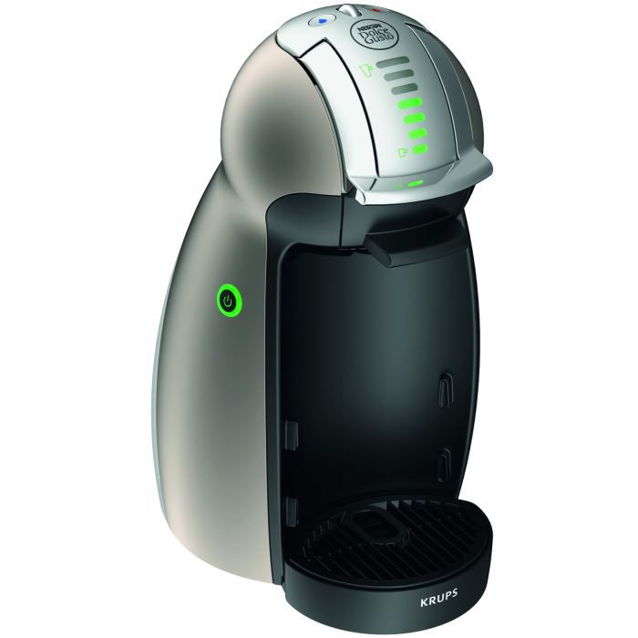 krups nescaf dolce gusto genio titanium kp achat. Black Bedroom Furniture Sets. Home Design Ideas