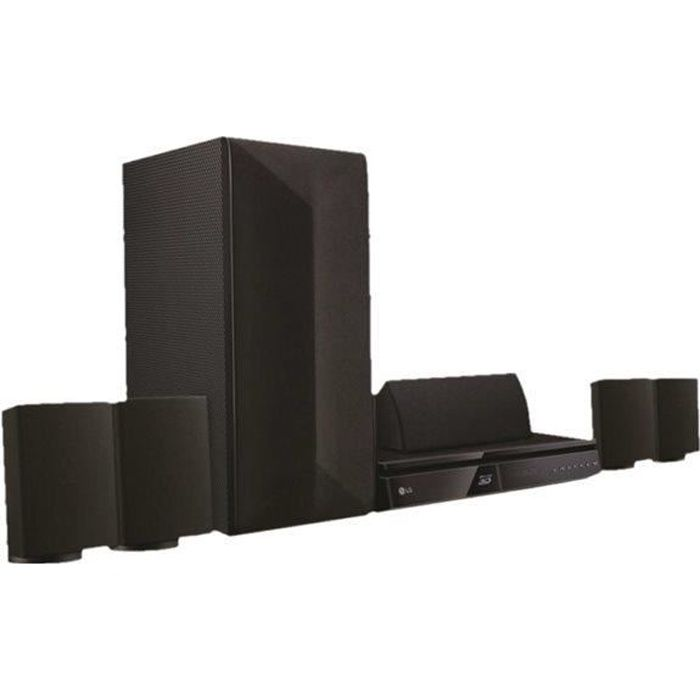 home cin ma 5 1 lg achat vente pas cher cdiscount. Black Bedroom Furniture Sets. Home Design Ideas