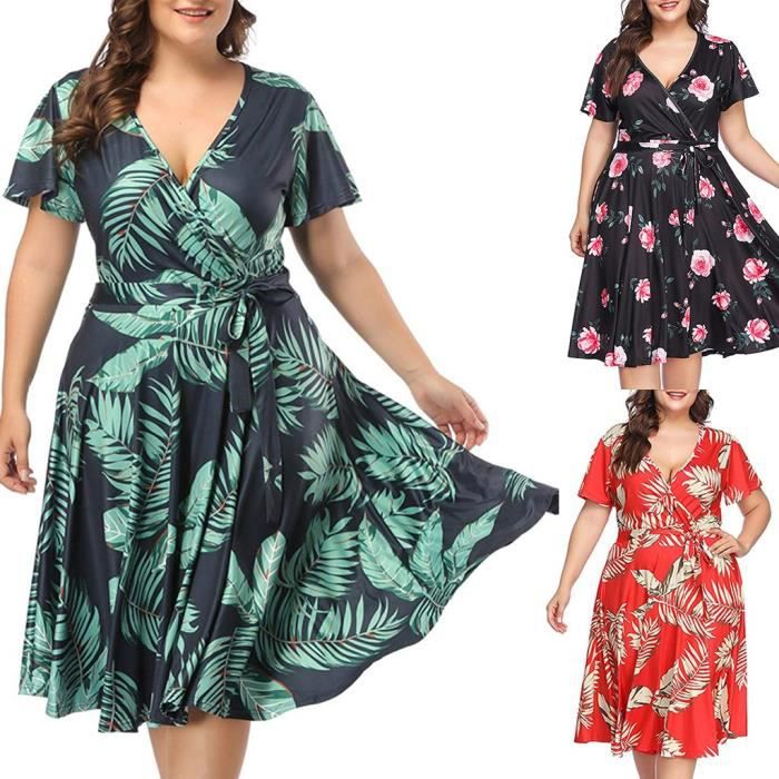 Grande Taille Lin Oversize uni 2 poches robe longue ** Comme neuf ** xl-xxl Buste 52-54