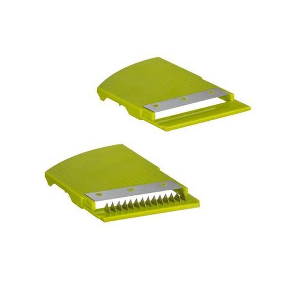 Five 2 en 1 Essoreuse M/écanique 4.5 L et Mandoline avec accessoires