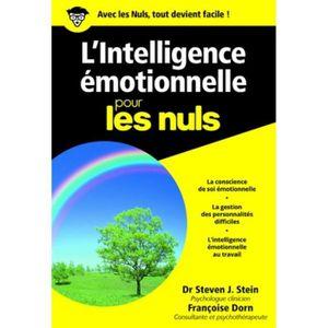 LIVRE DÉVELOPPEMENT L'intelligence émotionnelle pour les nuls