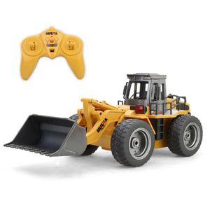 VOITURE ELECTRIQUE ENFANT 1:18 RC Truck 6CH Bulldozer Tractor Télécommande S