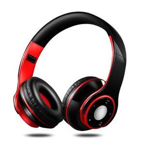 CASQUE - ÉCOUTEURS Ecouteurs sans fil Bluetooth avec casque de charge
