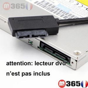 CÂBLE INFORMATIQUE 7+6 13Pin connecteur SATA lecteur DVD interne vers