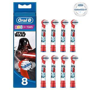 BROSSETTE Oral-B Kids Brossettes Star Wars, Lot de 8, Format