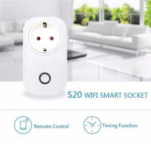 COMMUTATEUR ROTATIF Smart APP télécommande Interrupteur Sonoff S20 WIF