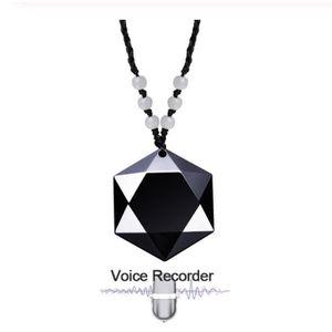 ENREGISTREUR Collier Enregistreur Vocal Audio Espion, 16Go Enre