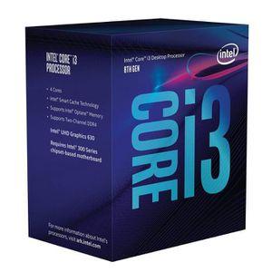 PROCESSEUR Processeur Intel bx80684i38100Core i3–8100Argent