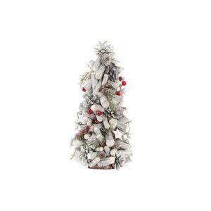 SAPIN - ARBRE DE NOËL Arbre de Noël en bois - 19 x 38 cm - Tronc marron