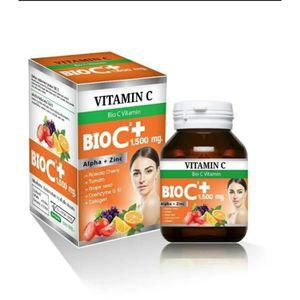 SOIN ANTI-TACHES Bio C Vitamine Alpha + Zinc 1500 Mg. Bio 30 Compri
