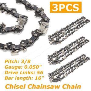 """4 chaînes adapté pour Dolmar ps460 38 Cm 325/"""" 64 TG 1,5 mm chaine de tronconneuse Épée"""