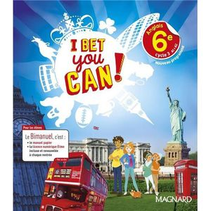 Livre I Bet You Can Anglais 6e Bimanuel Edition 2017