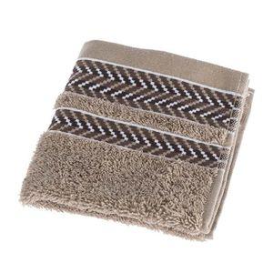 30 x 30 cm HOMESCAPES Carr/é /éponge en 100/% Coton Elite 580 g//m/² Beige cr/ème