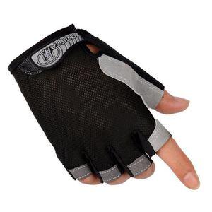 Gants de v/élo /ét/é Demi Doigt Doigt VTT /équitation Couleur Mixte Respirant Paumes de Protection Gants de Sport en Plein air