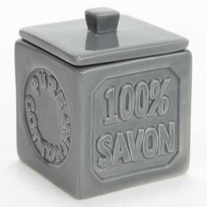 DISTRIBUTEUR DE COTON Pot à Coton Céramique