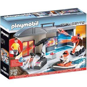 UNIVERS MINIATURE Jeux et jouets - PLAYMOBIL 5085 Top Agents - Figur