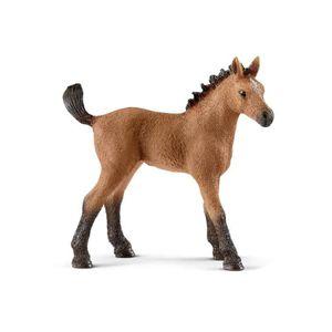 FIGURINE - PERSONNAGE SCHLEICH - Figurine 13854 Poulain Quarter horse