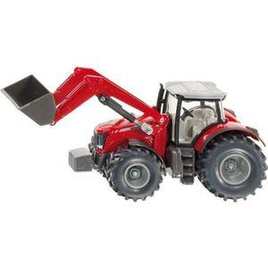 VOITURE - CAMION SIKU Tracteur Massey Ferguson avec Chargeur Fronta