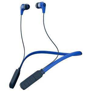 CASQUE AVEC MICROPHONE SKULL CANDY Casque Bluetooth sans fil Ink'd - Bleu