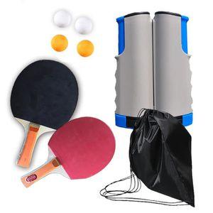 RAQUETTE TENNIS DE T. Raquette De Ping Pong, Set De Tennis De Table avec