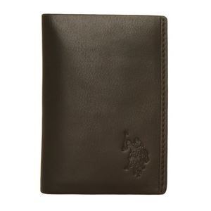 ae70d8b1f2bb Porte cartes Documents U.S. POLO ASSN. Cuir noi… Noir - Achat ...