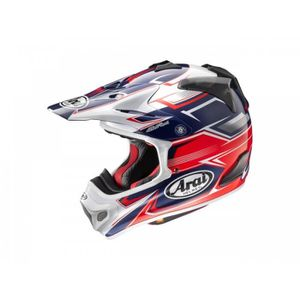 CASQUE MOTO SCOOTER Casque Cross Arai Mx-V Sly Rouge Taille L