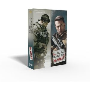 DVD FILM Coffret American Sniper et  Mr Wolf -  En DVD