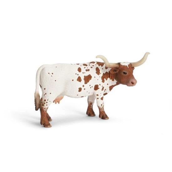 NOUVEAU * Safari Texas Longhorn Taureau solide Jouet en plastique Ferme Pet Animal Vache